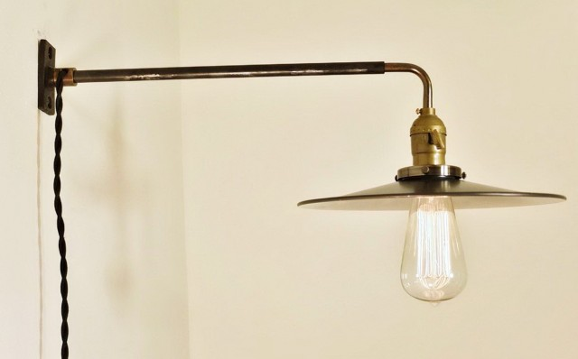 Plug In Chandelier Wall Sconce