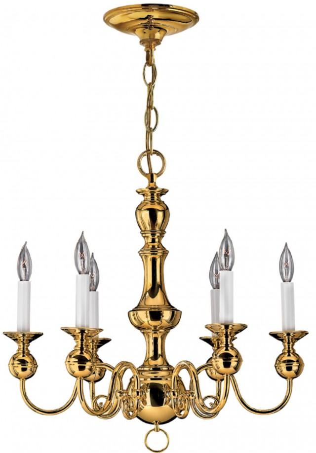 Polished Brass Chandelier Chain