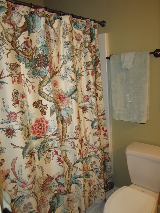 Pottery Barn Butterfly Shower Curtain
