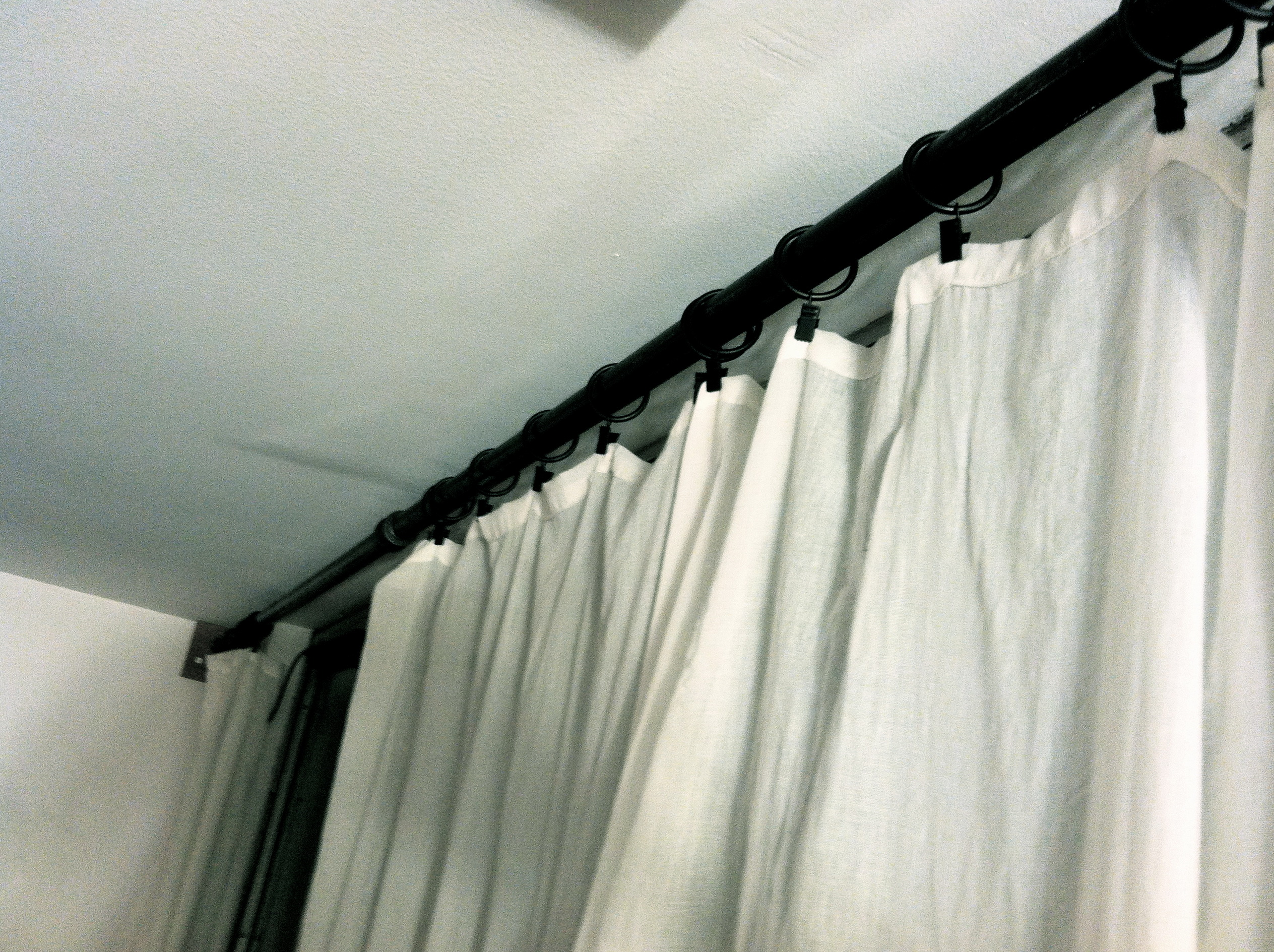 Pottery Barn Curtain Rods Iron