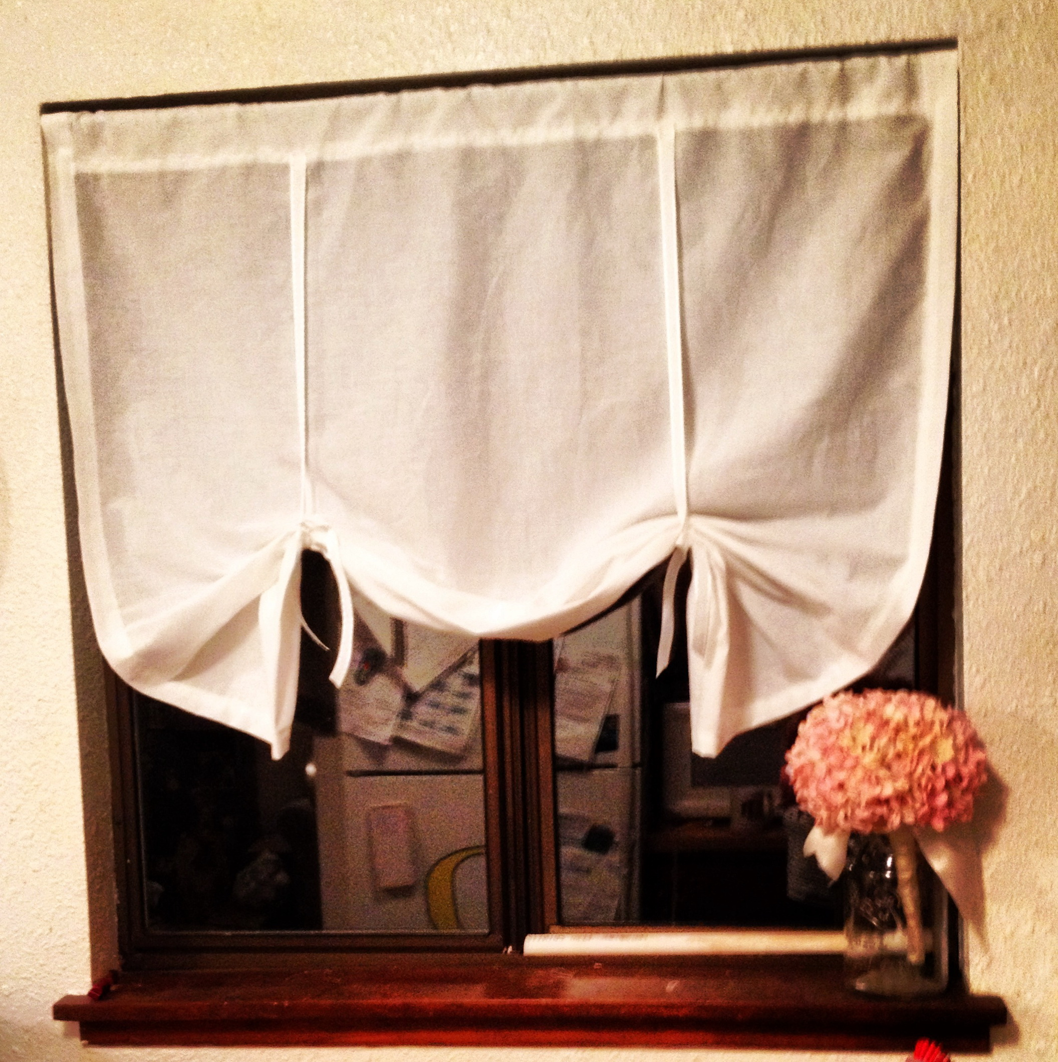 Pottery Barn Tie Top Curtains