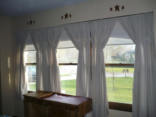 Primitive Curtains For Large Windows