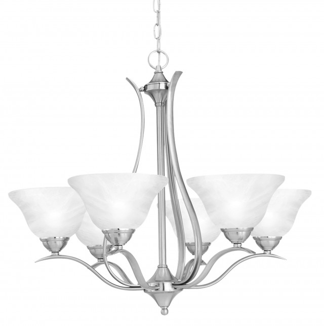 Rae 6 Light Chandelier