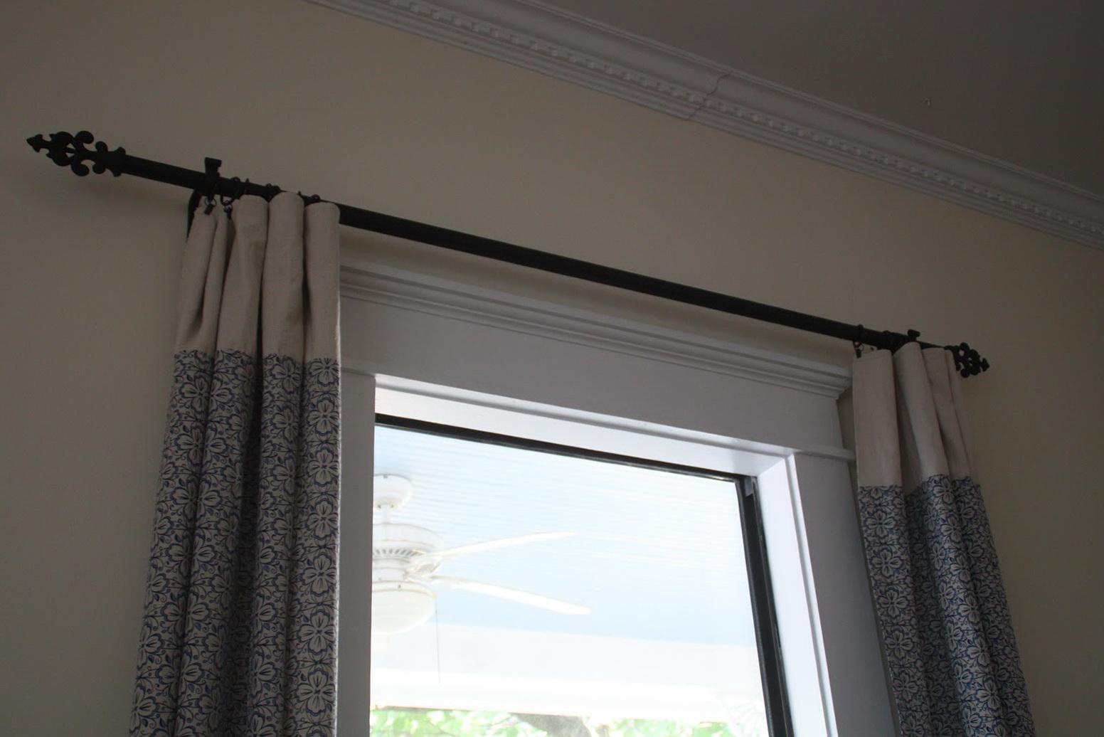 Restoration Hardware Curtain Rod Home Design Ideas