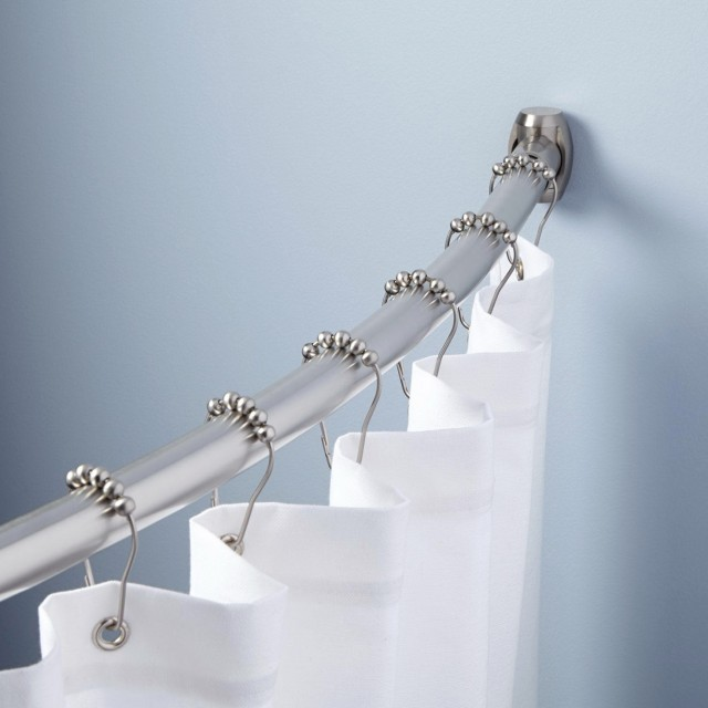 Restoration Hardware Shower Curtain Rod