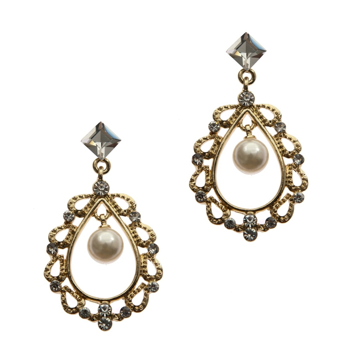 Rhinestone Chandelier Earrings Wholesale