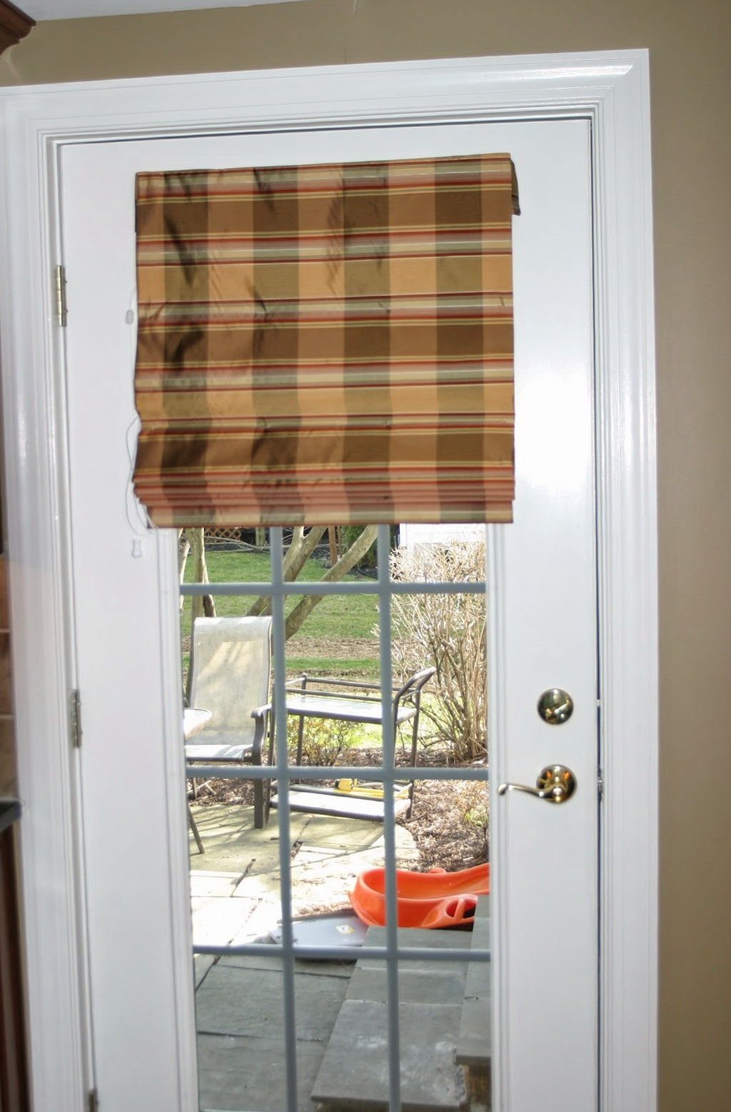 Roll Up Curtains For French Doors Curtain Designs