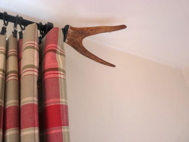 Rustic Curtain Rods Ideas