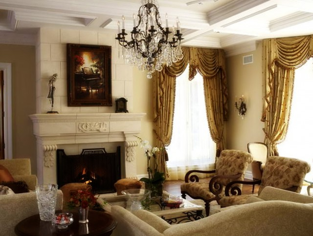Rustic Living Room Chandeliers