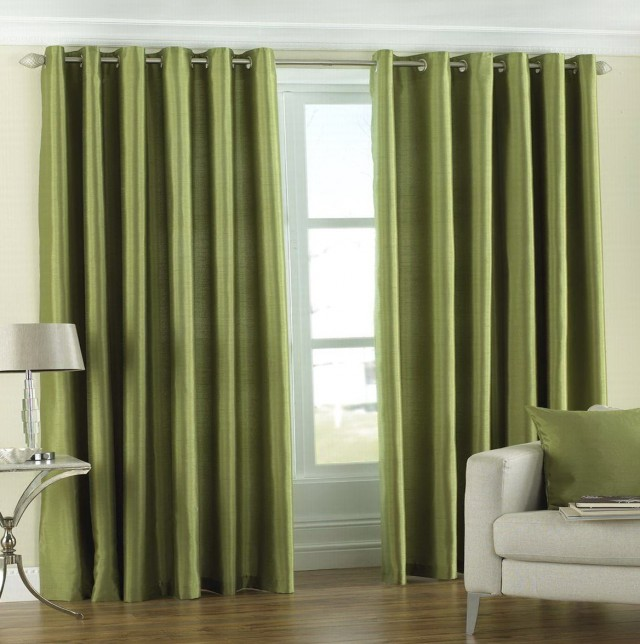 Sage Green Curtain Panels