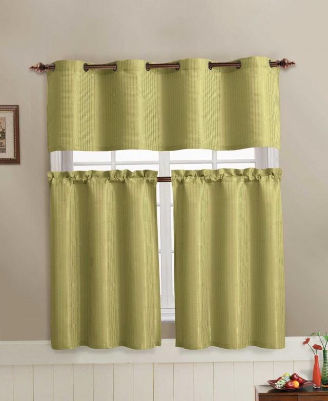 Sage Green Kitchen Curtains