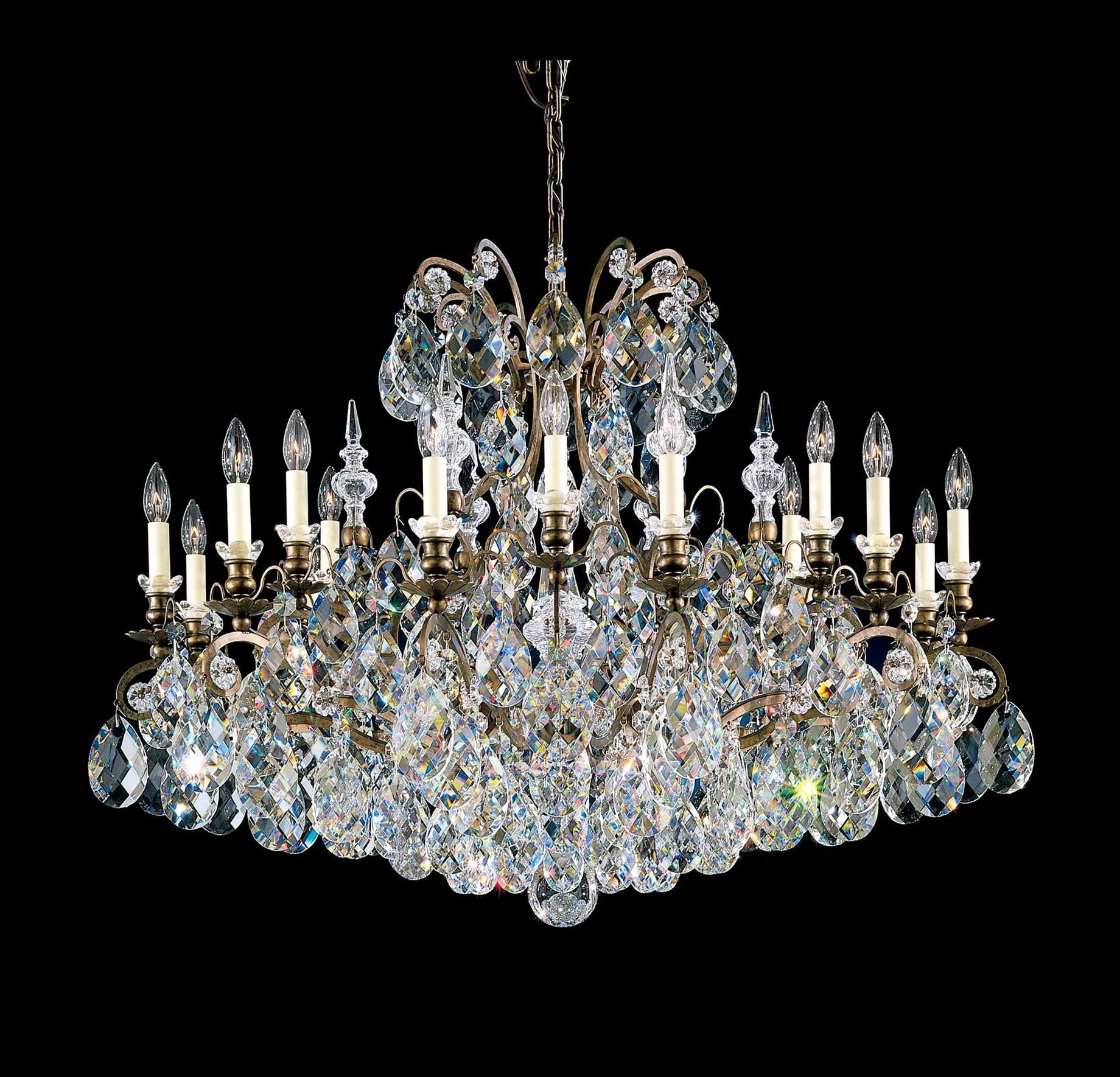 Schonbek Chandelier Replacement Crystals: Schonbek Crystal Chandelier Ebay