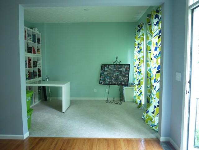 Seafoam Green Curtain Panels