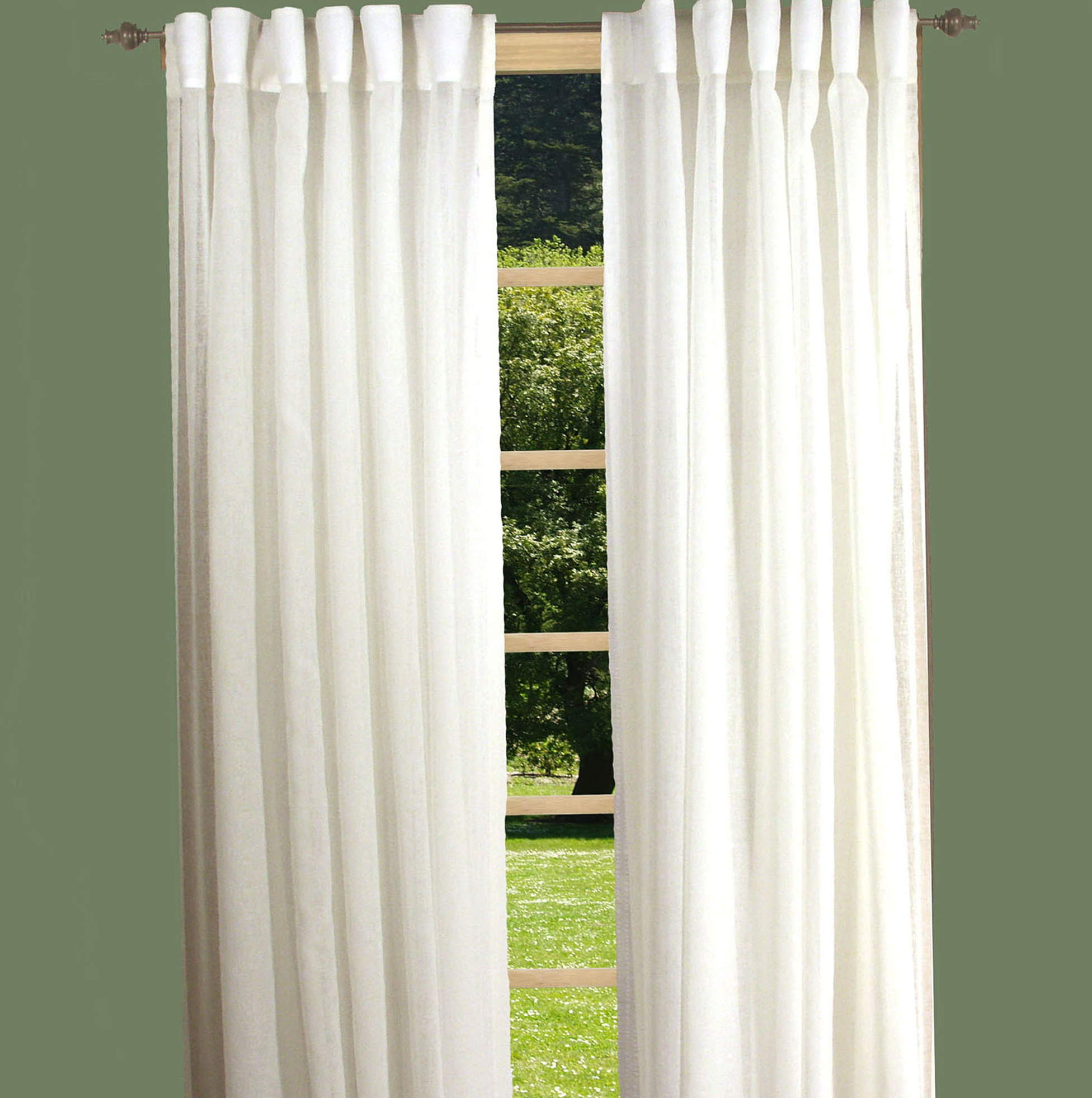 Semi Sheer Curtains Privacy Home Design Ideas
