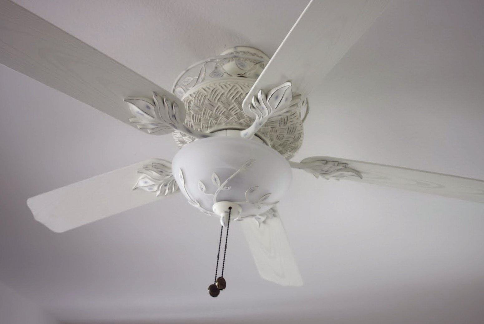Shabby Chic Ceiling Fan Chandeliers