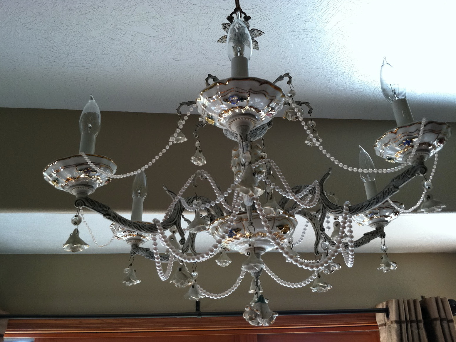 Shabby Chic Chandelier Diy Home Design Ideas