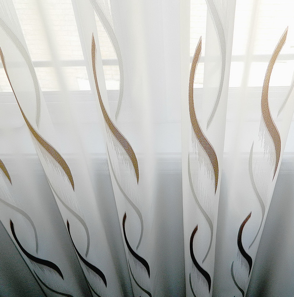 Sheer Curtain Fabric By The Yard