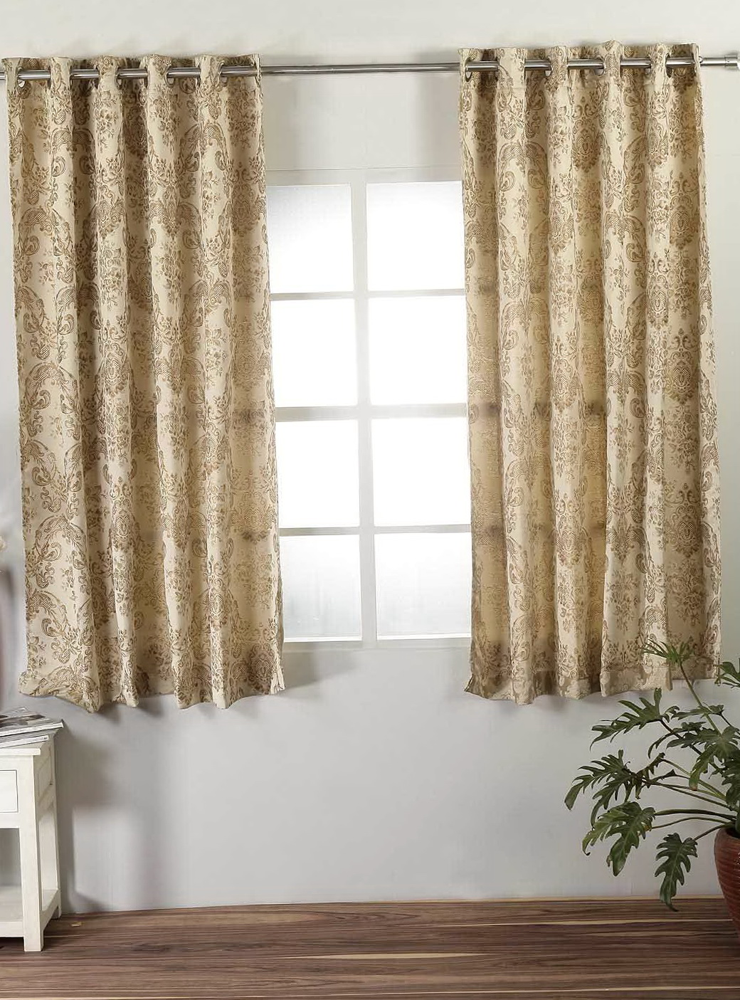 Short Grommet Top Curtains Home Design Ideas