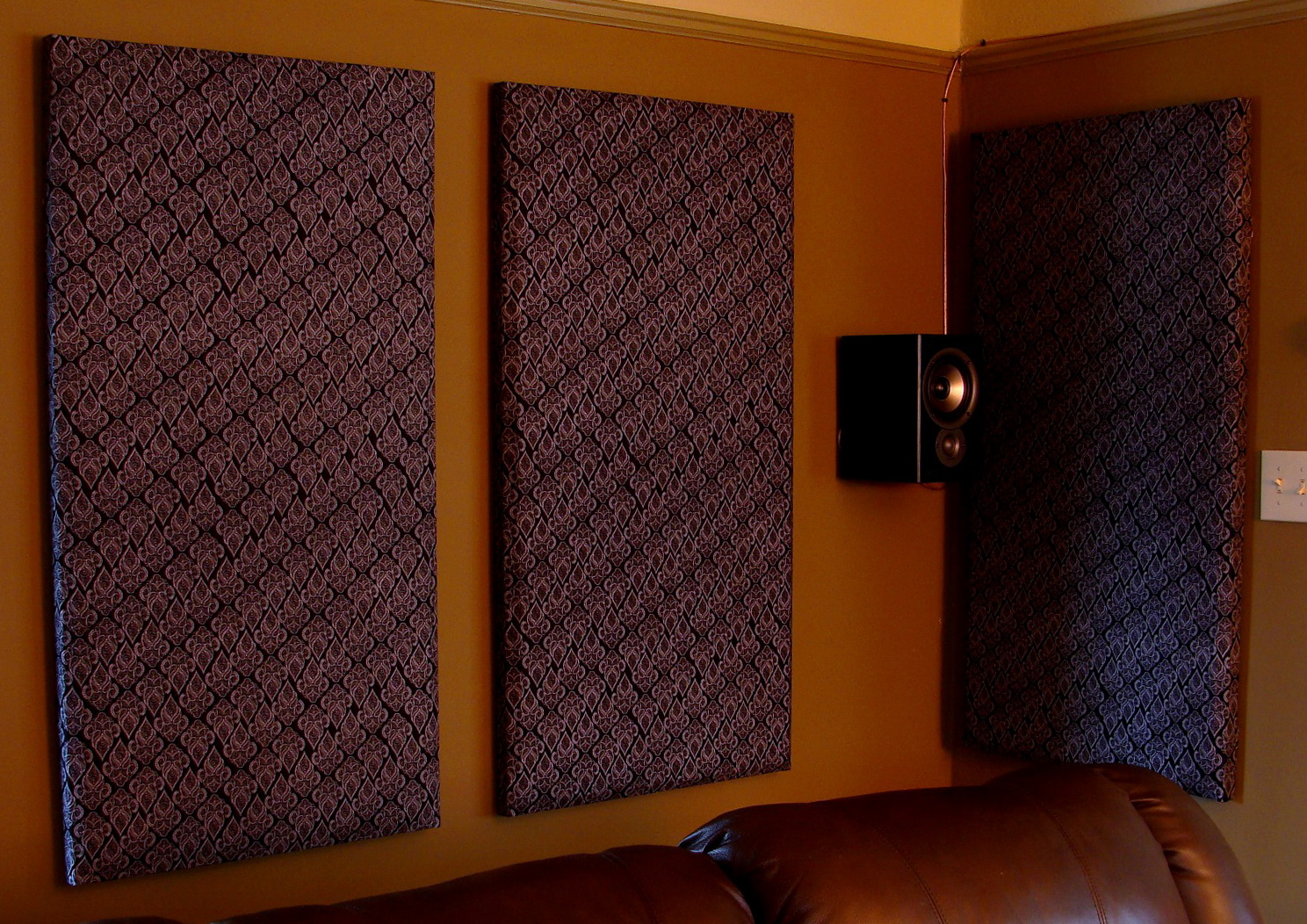 Sound Absorbing Curtains Diy Home Design Ideas