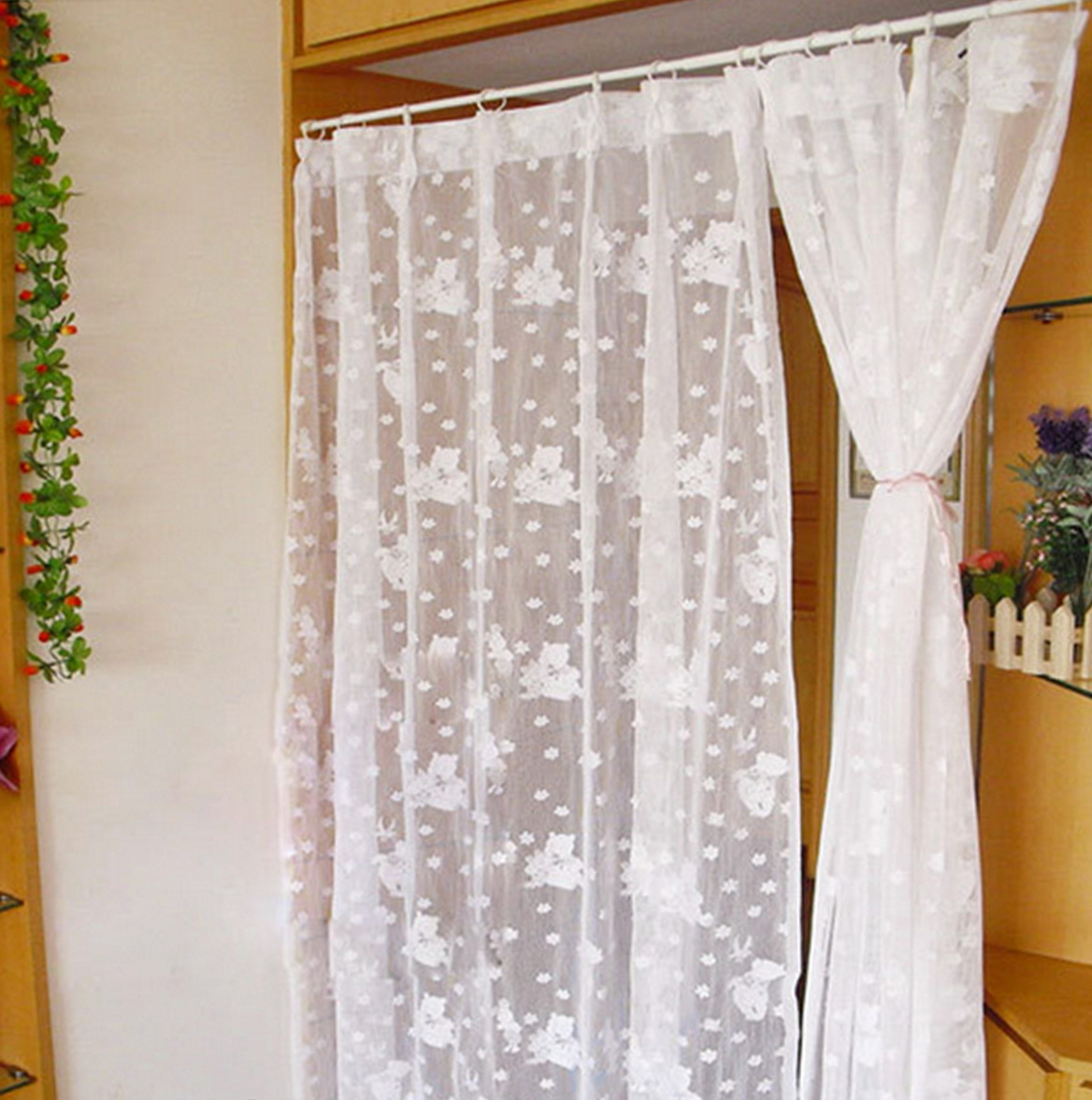 Spring Tension Curtain Rods Lowes
