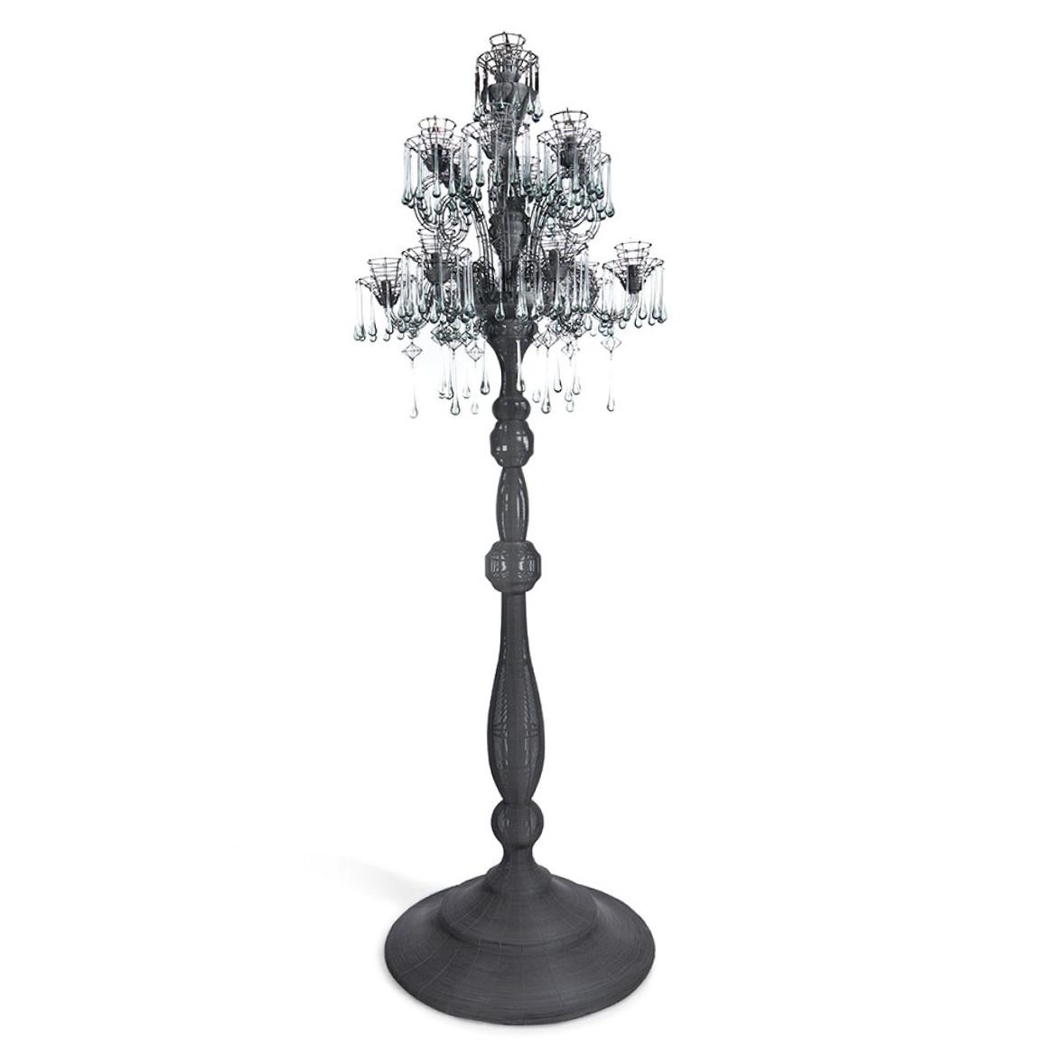 Standing Chandelier Floor Lamp