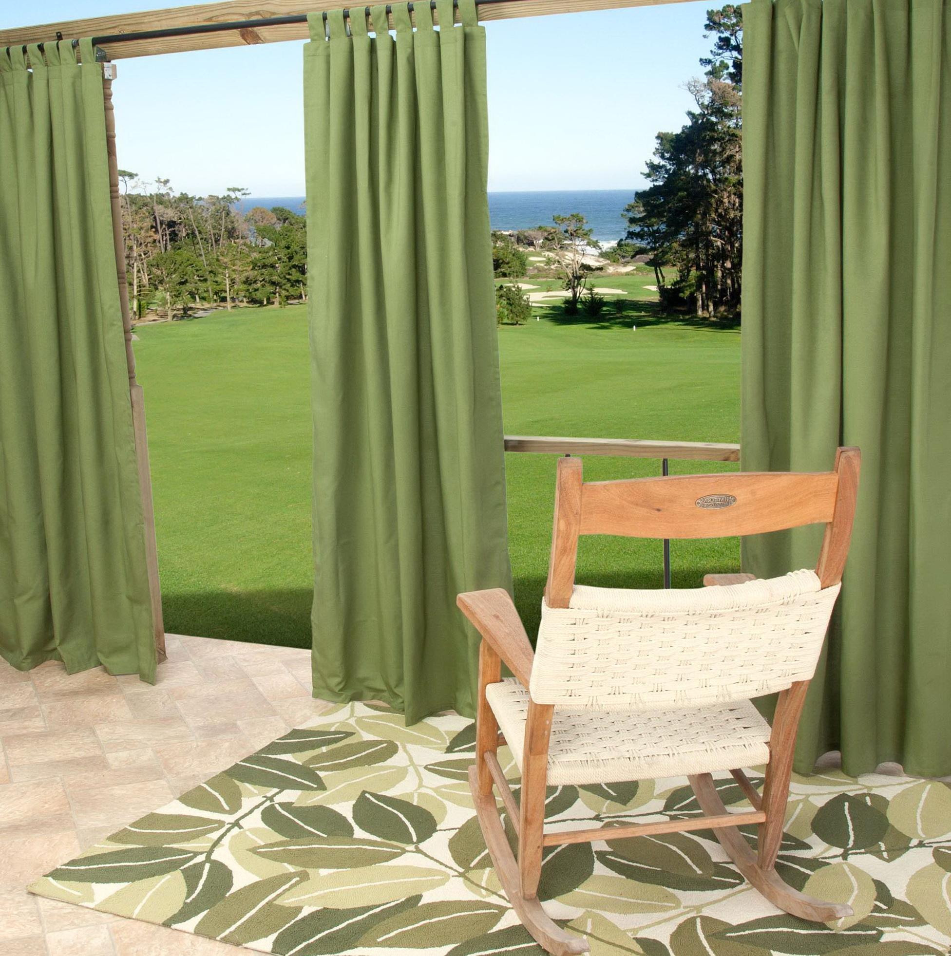 Sunbrella Outdoor Curtains 96