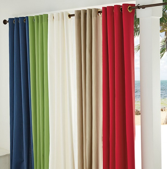 Sunbrella Outdoor Curtains Clearance