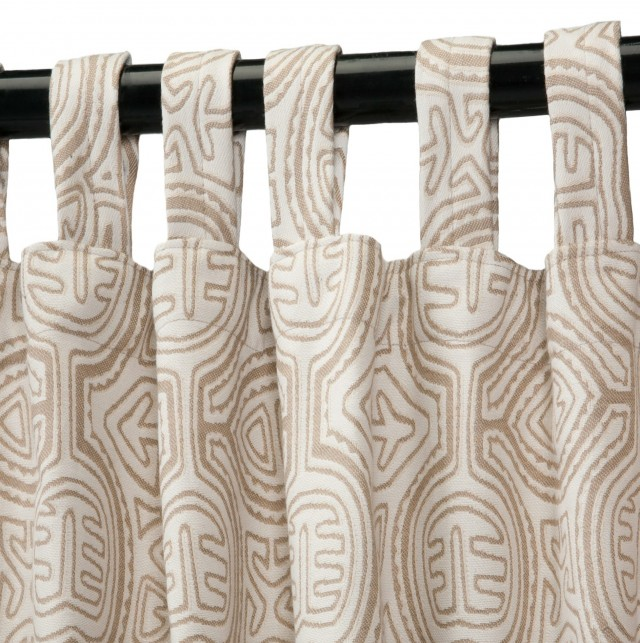 Sunbrella Outdoor Curtains With Tabs