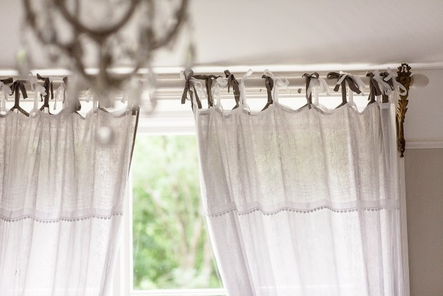 Tie Top Curtains Uk