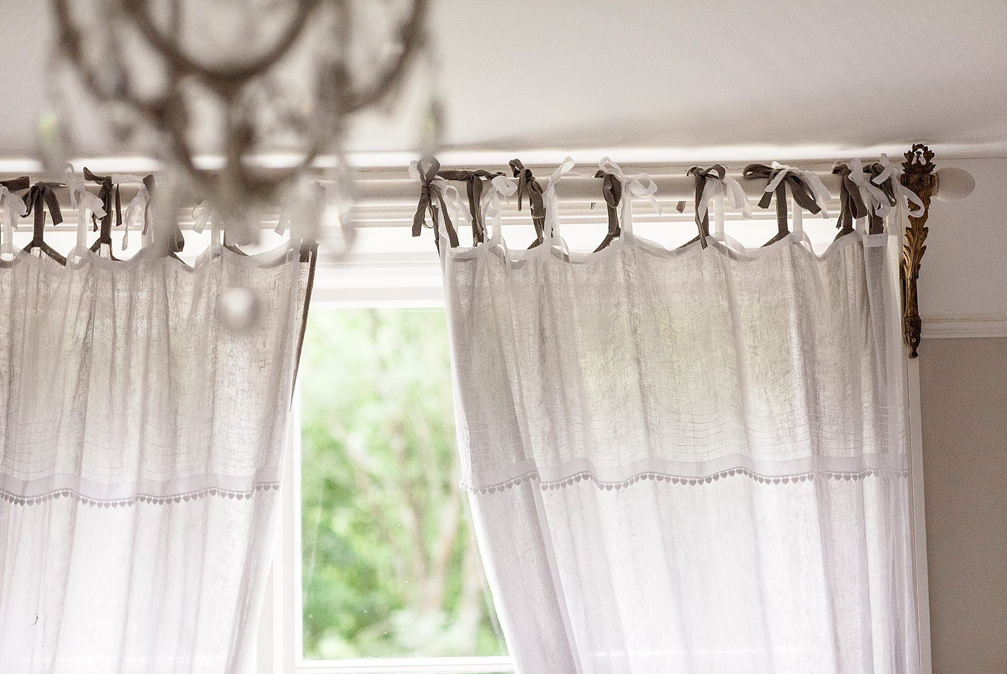 97+ How To Make Curtains With Tie Tops How To Make Curtains With Tie Tops How To Sew Tie Top