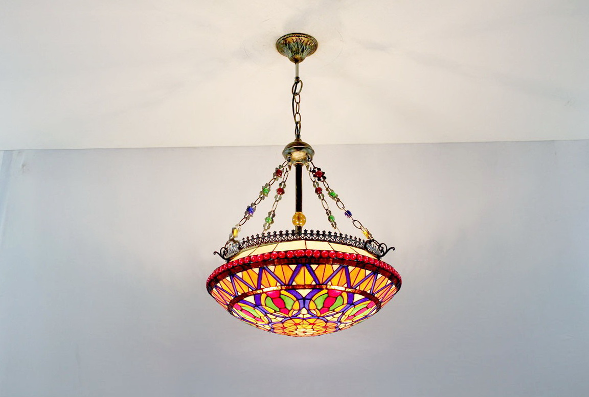 Tiffany Style Chandelier Lamps