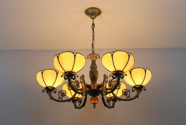 Foyer Lighting Tiffany Style : Antique tiffany style chandelier home design ideas
