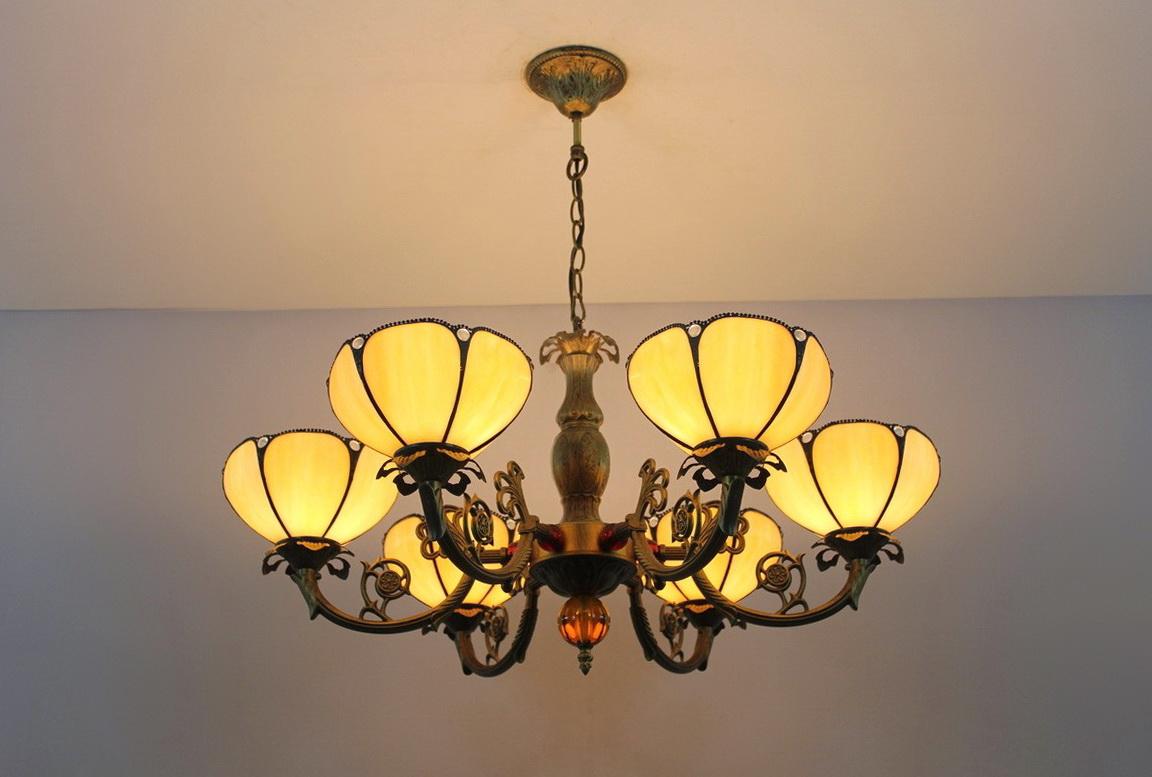 Tiffany Style Chandelier Lighting