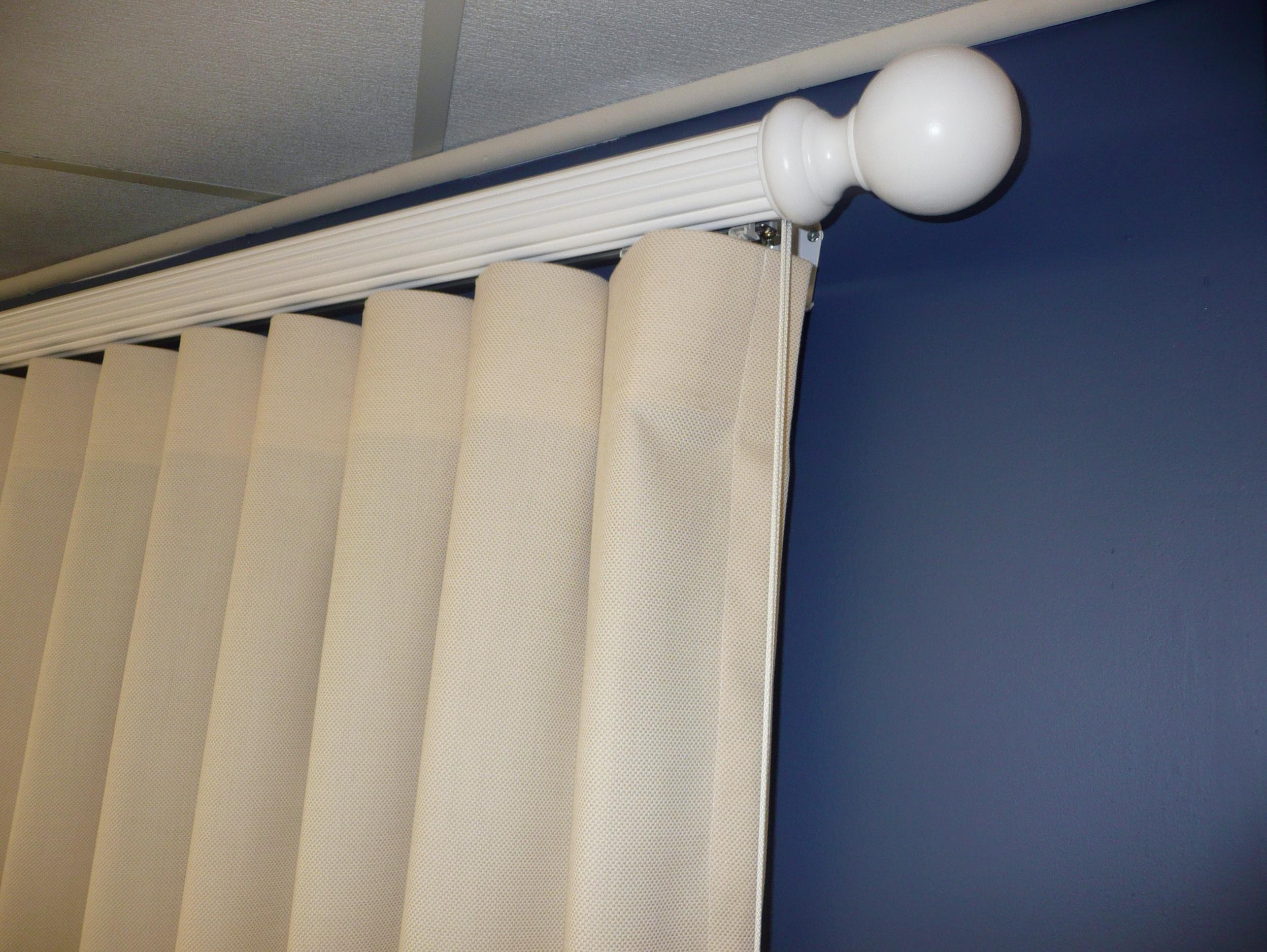 Traverse Rod Curtains Drapes