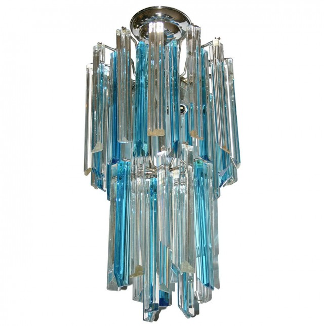 Turquoise Chandelier Light Fixture