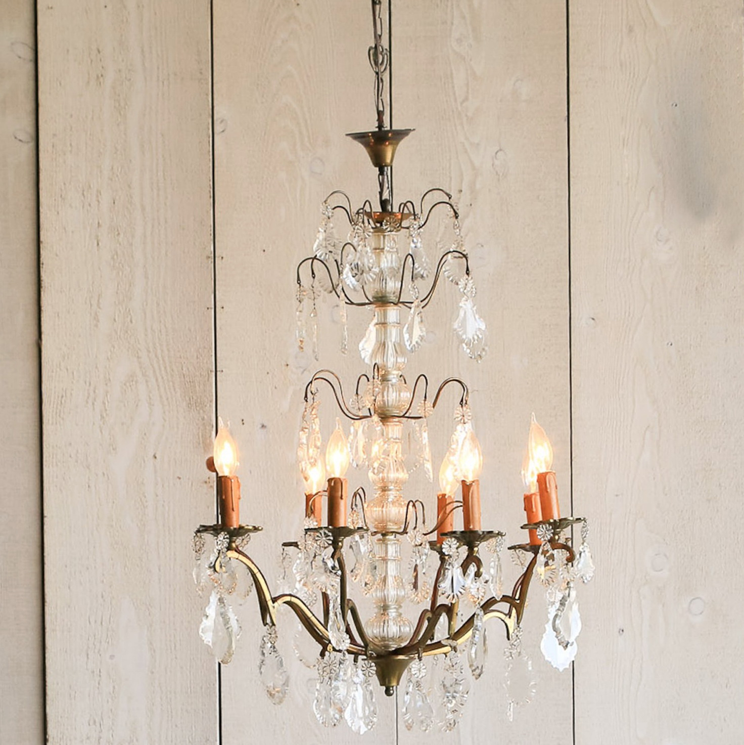 Vintage brass chandeliers sale home design ideas - Chandeliers on sale online ...