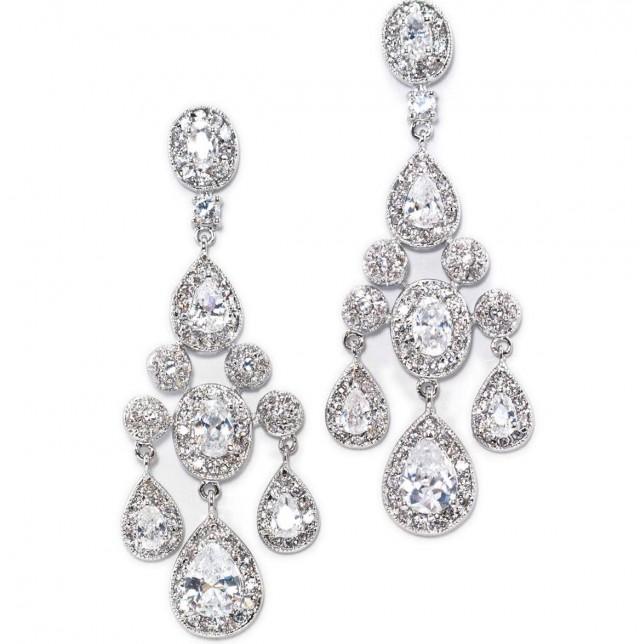 Vintage Chandelier Earrings Wedding