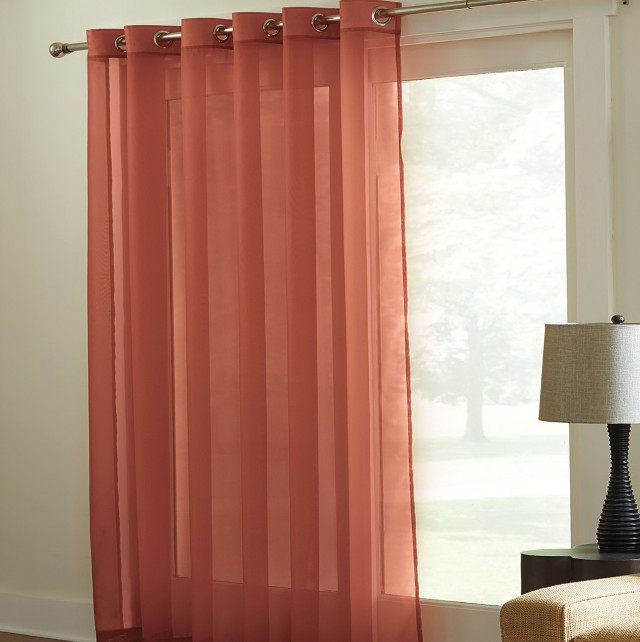 Voile Curtains For Patio Doors