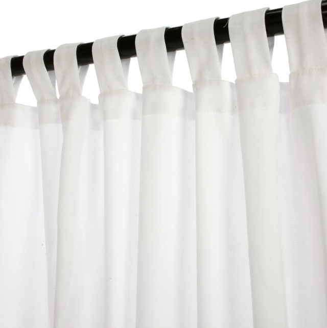 White Cotton Curtains 108