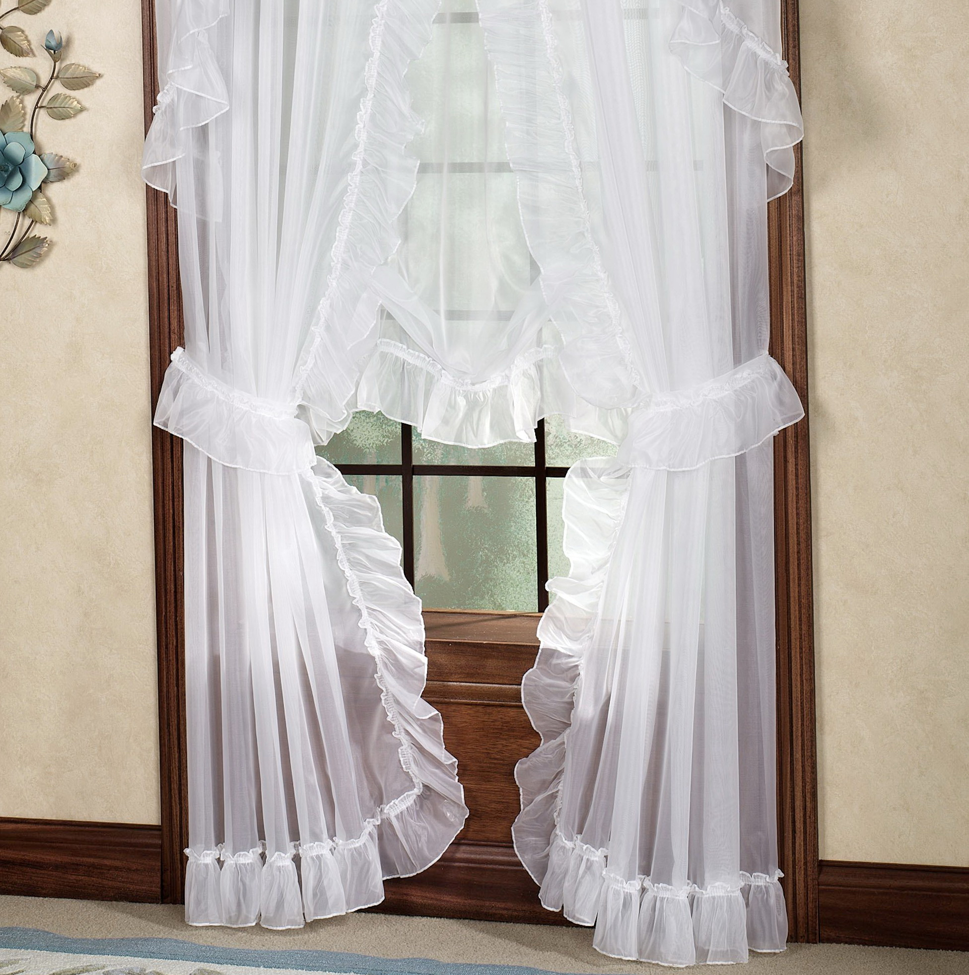 White Cotton Curtains 63