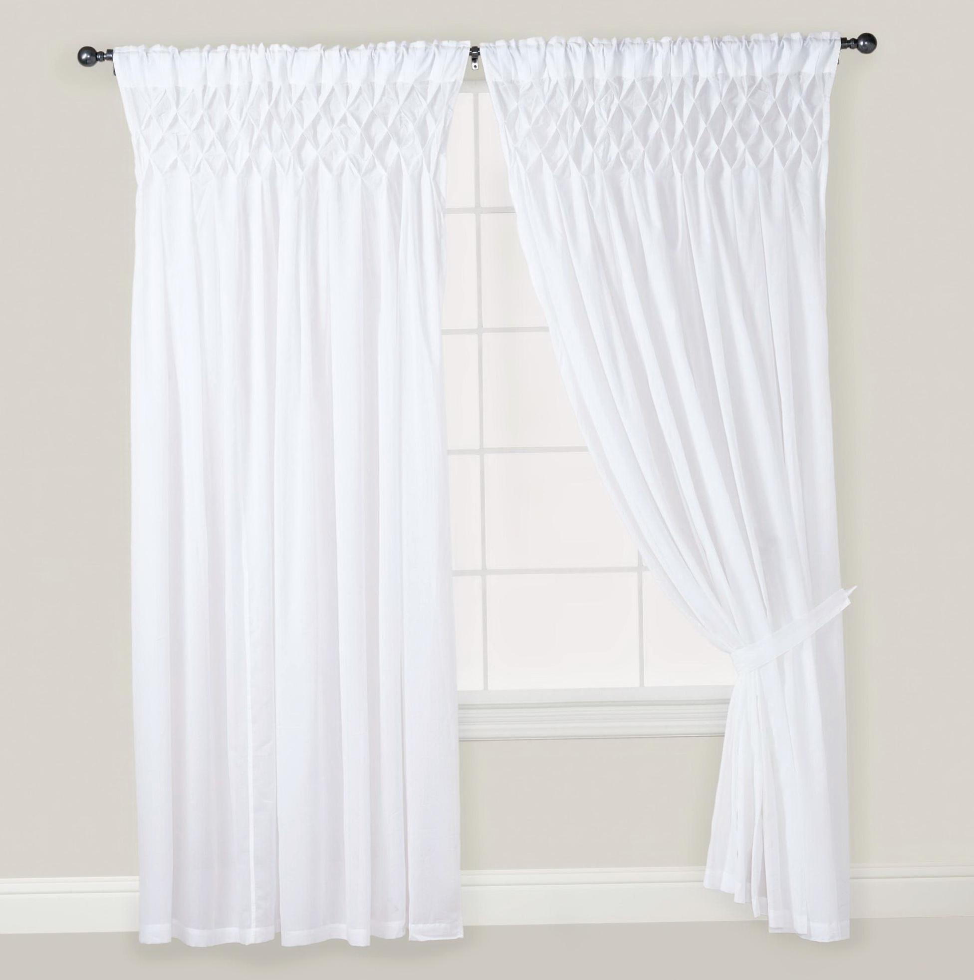 White Cotton Curtains 84 Home Design Ideas