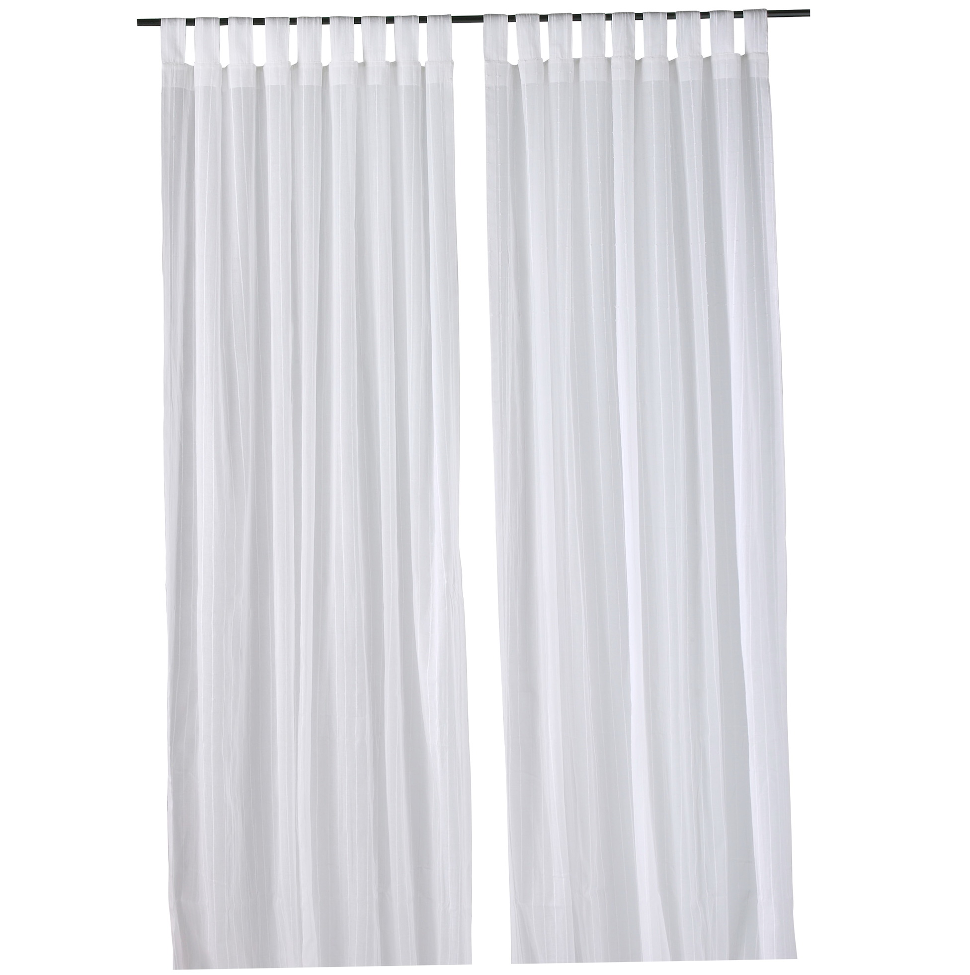 White curtains ikea vivan curtains 1 pair white 145x250 for White curtains ikea