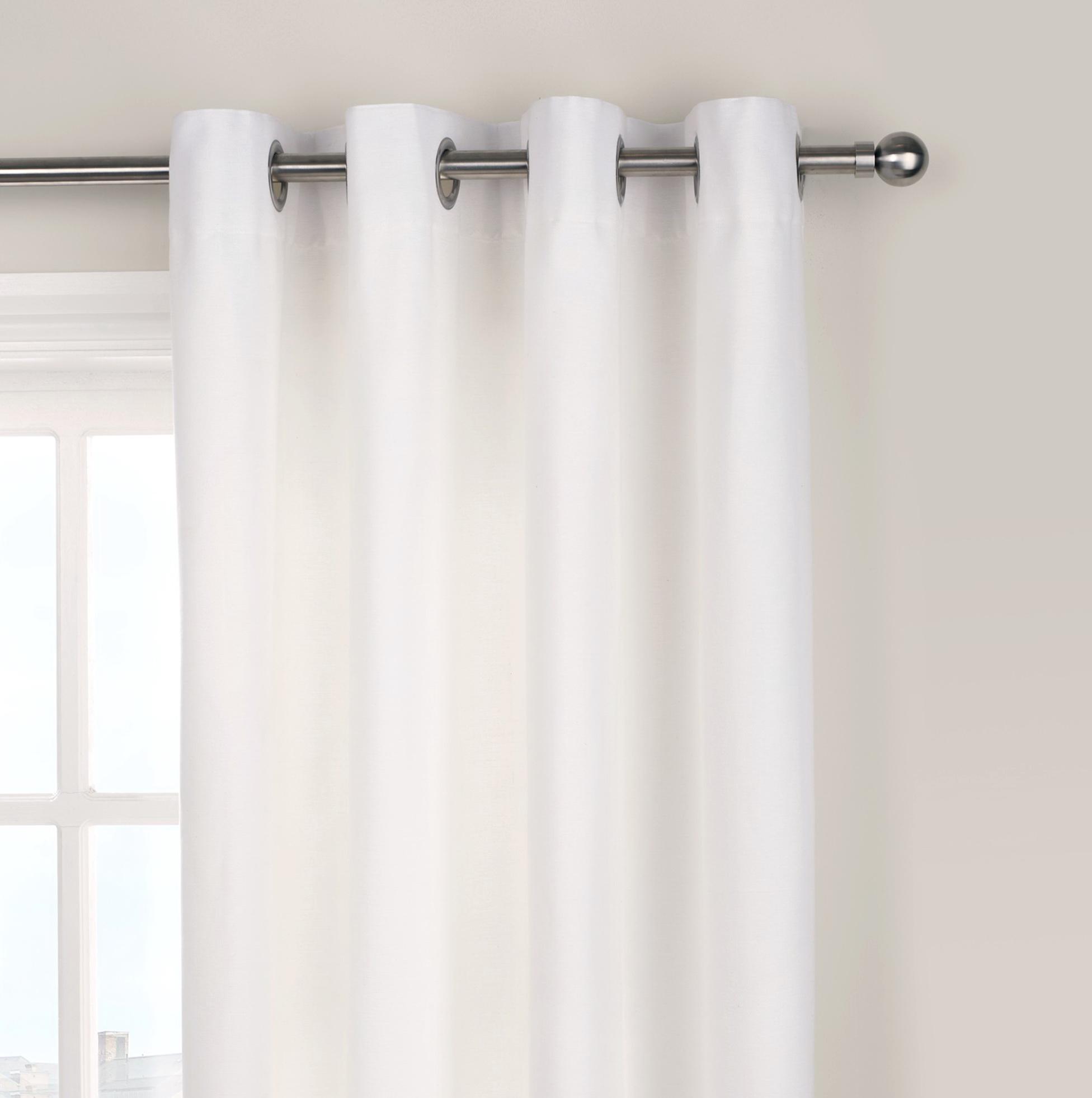 White Cotton Curtains Uk Home Design Ideas