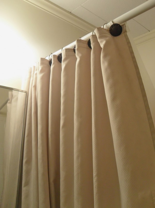 White Curtain Rods Target