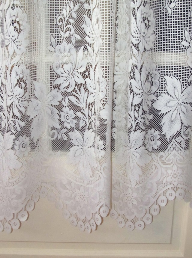 with ideas extremely curtains classic creative curtain floral style embroidered in pattern lace white