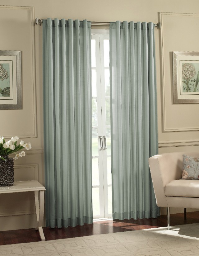 Wide Stripe Curtain Panels