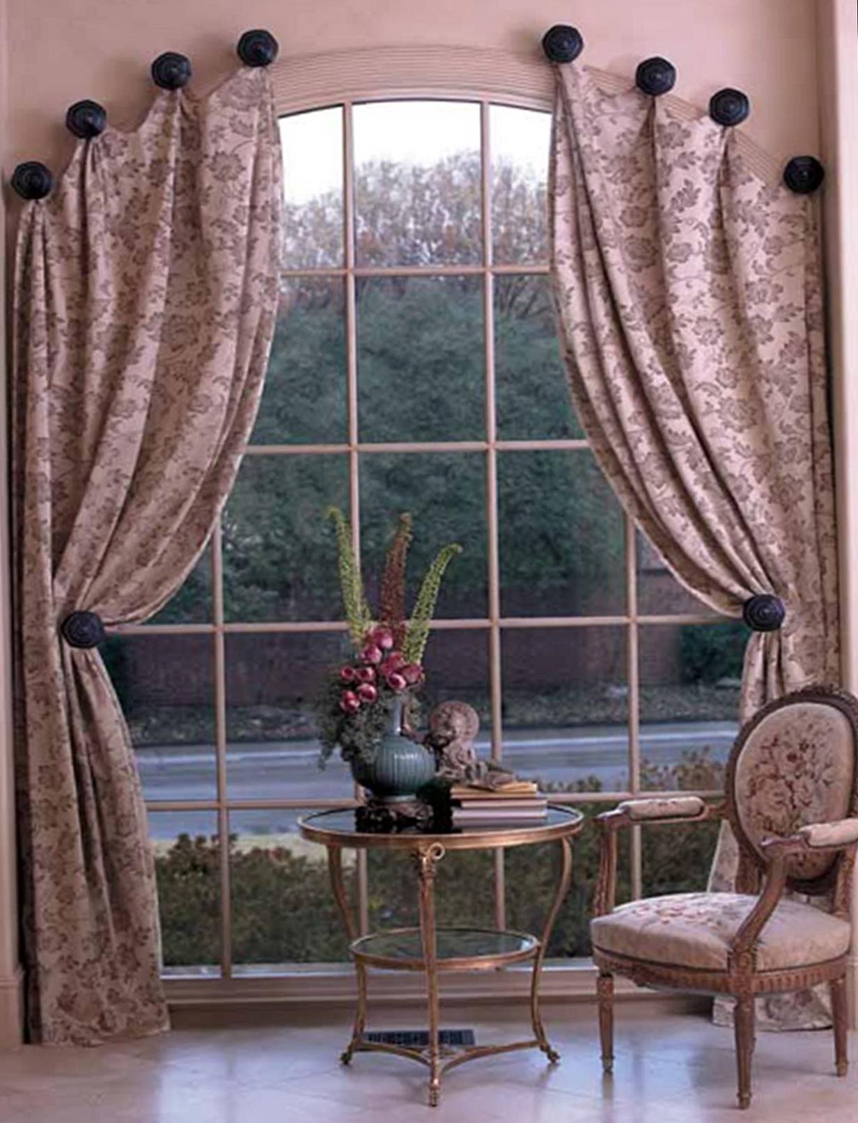 Window Curtain Rods Design