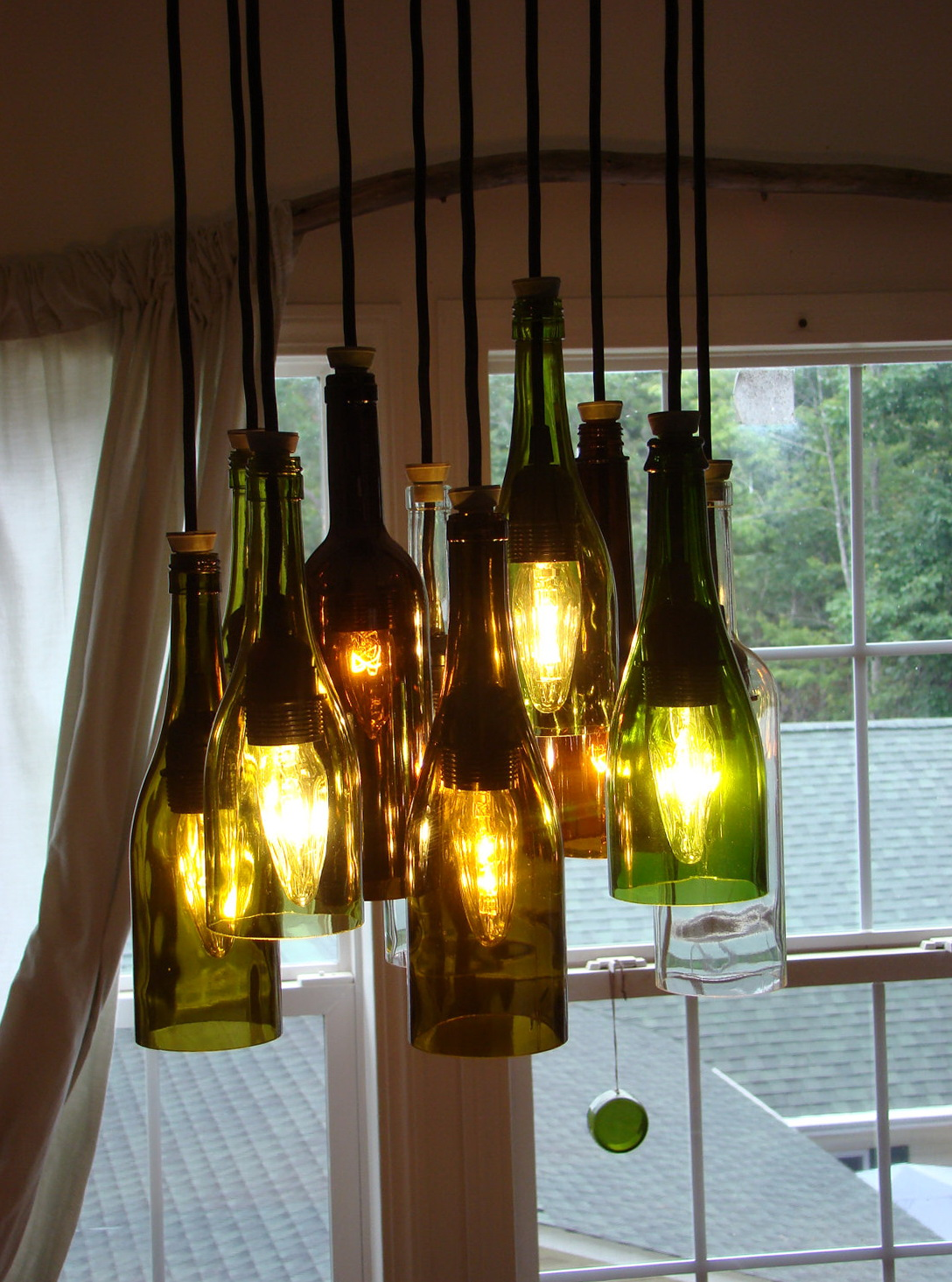Wine bottle chandelier diy home design ideas wine bottle chandelier diy aloadofball Choice Image