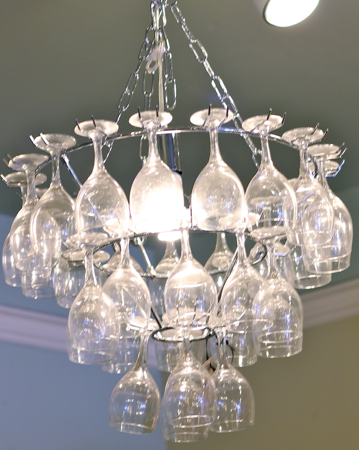 Wine Glass Chandelier Pottery Barn Home Design Ideas