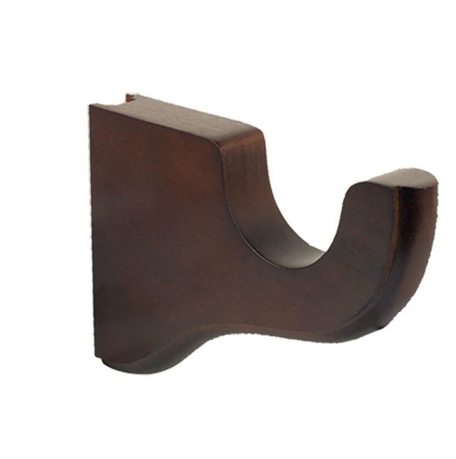 Wood Curtain Rod Brackets Discount